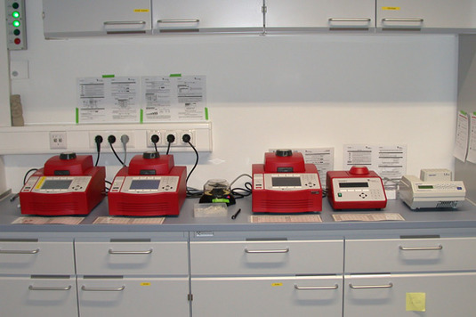 Thermocycler in the GeoBioCenter & Teaching Lab