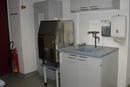 Eismaschine im Labor zur Probenaufbereitung